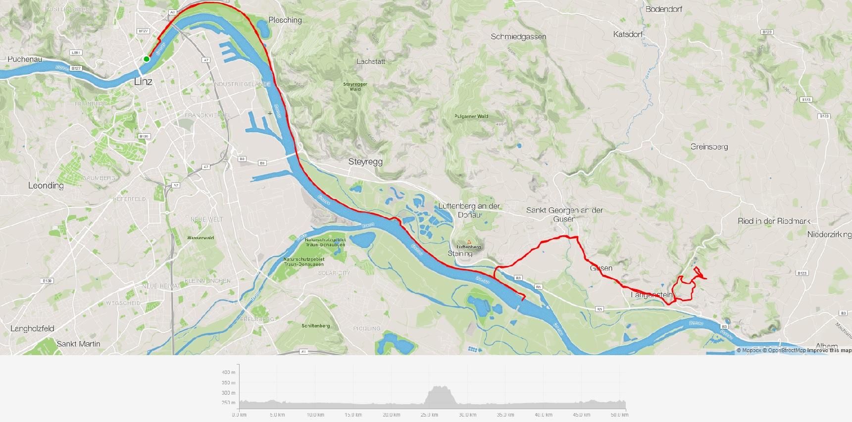 Linz a Mauthansen