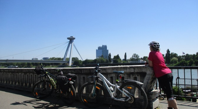Cyklovýlet s Pavčou do Bratislavy